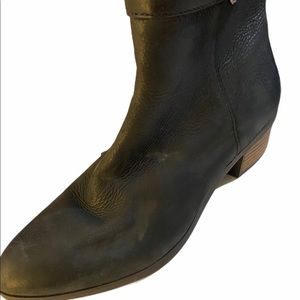 Dr. Scholl's Shoes - Dr. Scholls Leather Black  Mindy Booties 8.5